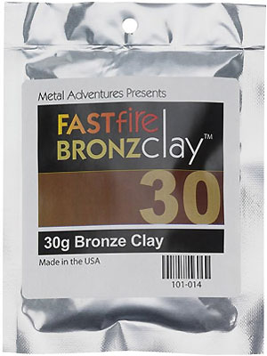BRONZclay Fast Fire 30g Package