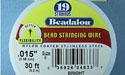 "19 Strand .015"" Bright Beadalon Wire - 30 ft."