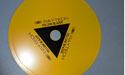 """Yellow Blazer Diamond Saw Blade - 6"""" x .012"""" x .015"""" x 5/8"""" x 1/2"""""""