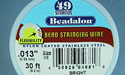 "49 Strand .013"" Bright Beadalon Wire - 30 ft."