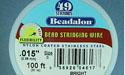 "49 Strand .015"" Bright Beadalon Wire - 100 ft."