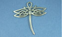 Celtic Dragonfly Pendant - Lead Free Pewter