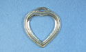 Heart Stone Setting - Lead Free Pewter