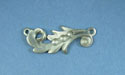 Scroll feather Pewter Setting - Lead Free Pewter