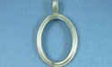 Oval Pewter Setting - Lead Free Pewter