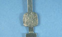 Stick Cabochon Holder - Lead Free Pewter