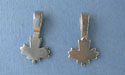 Maple Leaf Bevertail - Pk of 3 - Lead Free Pewter