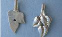 Triple Leaf Beavertail - Pk of 3 - Lead Free Pewter
