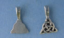 Celtic Knot Beavertail - Pk of 3 - Lead Free Pewter