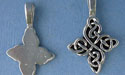 Happiness Knot Beavertail - Pk of 3 - Lead Free Pewter