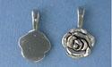 Rose Beavertail - Pk of 3 - Lead Free Pewter
