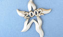 2002 Star Annual Ornament - Lead Free Pewter