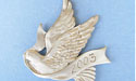 2003 Dove Annual Ornament - Lead Free Pewter