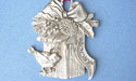 2005 Bird house Annual Ornament - Lead Free Pewter