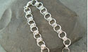 1-6 Chain Maille Bracelet - Argentium Sterling Silver