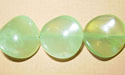 "Round Wave Chinese New Jade - 16"" Strand"
