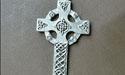 Lg Celtic High Cross - Lead Free Pewter
