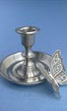 Butterfly Candle Stick Holder - Lead Free Pewter
