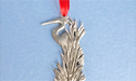 2015 Heron Annual Ornament - Lead Free Pewter