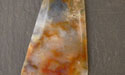 Grave Yard Point - Plume Agate Designer Cabochon - 46mmx34mm