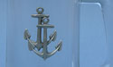 Double Anchor Beer Mug - Lead Free Pewter