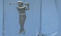 Old Man Golfer Beer Mug - Lead Free Pewter