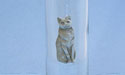 Regal Cat Shooter Glass - Lead Free Pewter