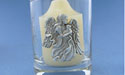 Angel with Lamb Votive - Lead Free Pewter