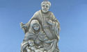 Mary and Joseph Figurine - Lead Free Pewter