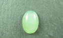 13x18mm Chinese New Jade Oval Cabochon