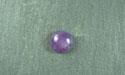 7mm Amethyst Round Cabochon