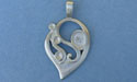 Tear Drop Pewter Setting - Lead Free Pewter