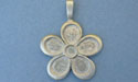 Flower Pewter Setting - Lead Free Pewter