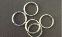 8.0mm (ID) 16ga - Argentium Sterling Silver Jump Rings