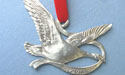 2012 Canadian Goose Ornament - Lead Free Pewter