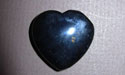 Black Agate Gemstone Heart