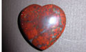 Brecciated Jasper Gemstone Hearts