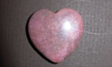Rhodonite Gemstone Hearts