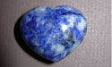 Sodalite Gemstone Puff Heart