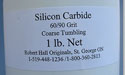 Silicon Carbide 60/90 Coarse Tumbling Grit