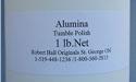 Alumina Tumble Polish