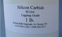 Silicon Carbide 80 Grit Lapping Grade