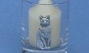 Regal Cat Votive Holder - Lead Free Pewter