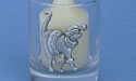 Christmas Cat Votive Holder - Lead Free Pewter