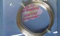 20ga Round - Non-Tarnish Silver Plated - German Style Wire