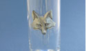 Fox Head Shooter - Lead Free Pewter