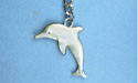 Dolphin Keychain -Lead Free Pewter