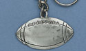 Football Keychain - Lead Free Pewter