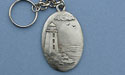 Lighthouse Keychain - Lead Free Pewter
