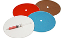 "6"" Diamond Smoothing Disc Kit - With Backing Plates"
